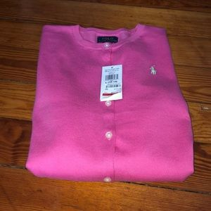 Polo Ralph Lauren girl's large cardigan